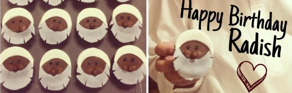 Radish Cupcakes